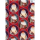 Gift Wrap  Nisse on Red
