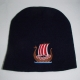 Danish Viking ship knit beanie