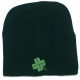 Shamrock Knit Beanie Green