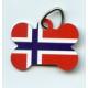 Pet Tag - Norway Dog Bone