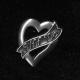 Pewter Pin - Uff Da Heart