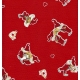 "Gift Wrap Kissing Tomtar 23""x72"""