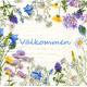 Luncheon Napkins - Valkommen Flowers