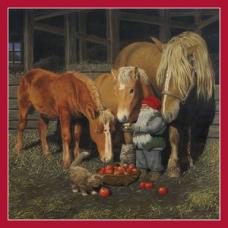 Cocktail Napkins - Tomte & Horses