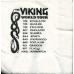 Cocktail Napkins - Viking World Tour
