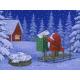 """Eva Christmas doormat 24"""" x 36"""""""