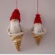 Straw Santas 2 pack