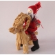 Straw Goat with Tomte