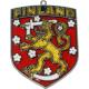 Finland Crest Suncatcher