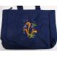 Pocket Tote bag - Rosemaling