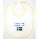 Baby Bib - Living the Swede Life