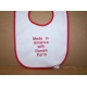 Baby Bib - Made in America with Danish Parts
