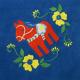 Fleece Blanket - Dala Horse