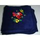 Fleece Blanket - Dala Horse - Navy