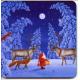 Coasters - Eva Melhuish Tomte and Reindeer