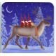 Coasters - Eva Melhuish Tomtar on Reindeer