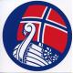 Decal -  Norway Viking Ship