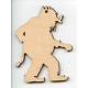 Baltic Birch Ornament - Troll