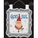 Wall Hanging -  God Jul Gnome