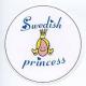 Magnet -  Swedish Princess