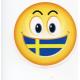 Pin - Swedish Smiley