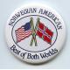Pin - Norwegian American