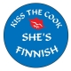 Pin -  Kiss the Cook She's Finnish