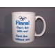 Coffee Mug - Finns Can't Live With em Can't Live Without em