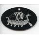 Laser Cut Ornament - Viking Ship