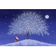 Laminated Placemat - Tomte at Tree