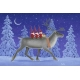 Laminated Placemat - Tomtar & Reindeer