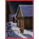 Poster - Tomte Leaving Barn