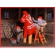 Poster - Tomtar Painting Dala Horse