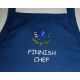 Apron - Tulip with Finnish Chef - Navy