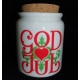 God Jul Jar with Cork Stopper