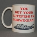 Coffee Mug - Bet your lutefisk