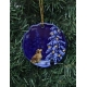 Ceramic Ornament  - Eva Melhuish Tree & Pets