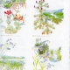 Gift Wrap Swedish Province Flowers