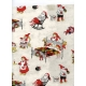 "Gift Wrap Sleeping Santas 23""x72"""