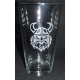Pint Beer Glass - Viking