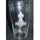 Pint Beer Glass - Thor's hammer