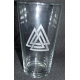 Pint Beer Glass - Valknut
