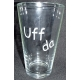 Pint Beer Glass - Uff da