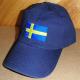 Baseball Hat - Sweden Flag - Navy