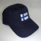 Baseball Hat - Finland Flag - Navy