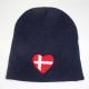 Denmark Heart Knit Beanie