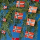 Flag Garland - Norway