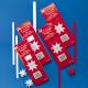 Star Strips Craft Kit - White