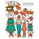 Paper Dolls - Lappland Women