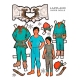 Paper Dolls - Lappland Men